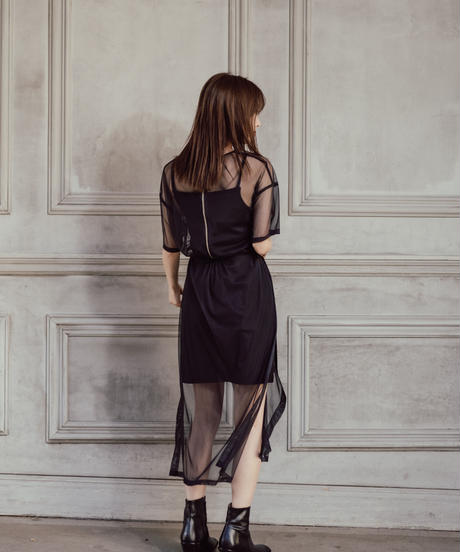 Tulle Ultra-thin Long TOP