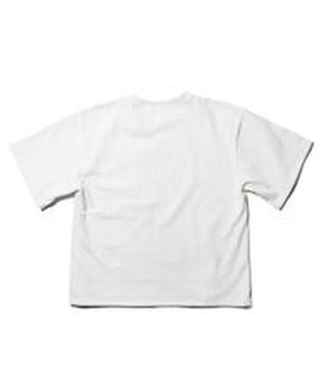 Reflection PVC pocket TEE / WHITE