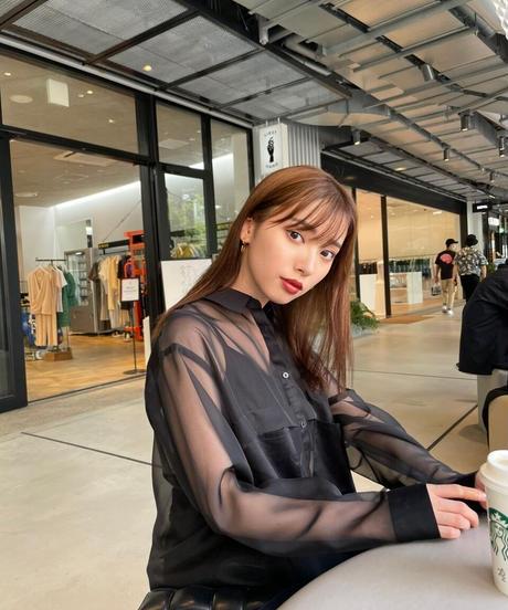 Black Sheer shirt