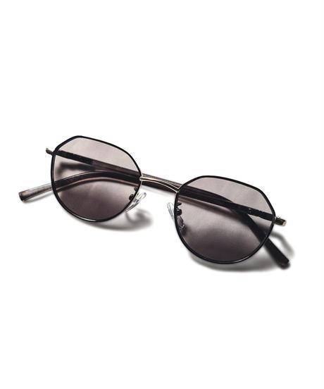 hexagon color sunglasses / GRAY