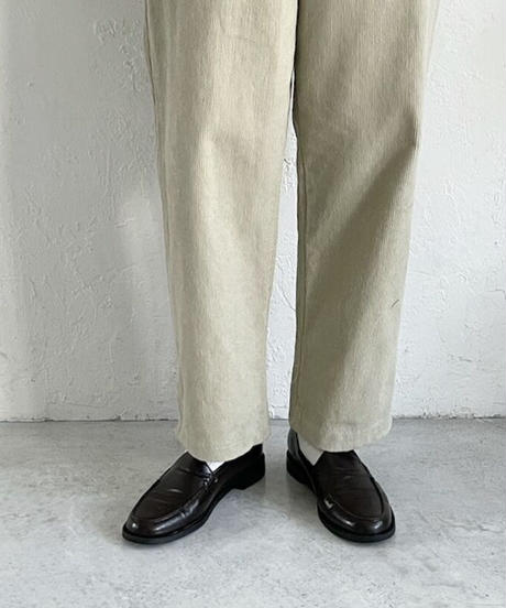 《予約販売》modern basic leather loafer (2color)