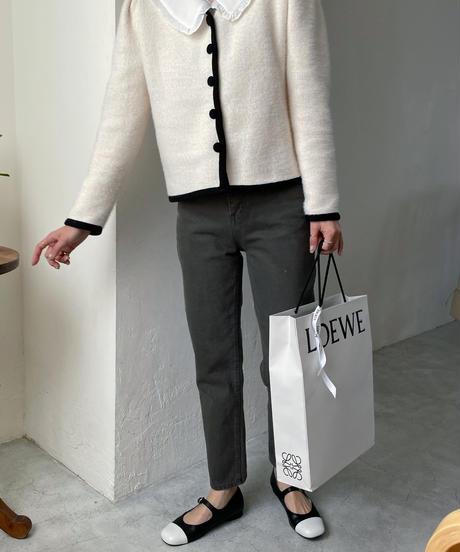 《予約販売》big collar mellow blouse