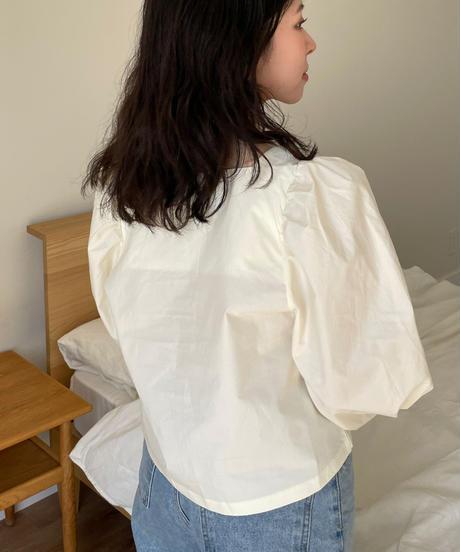 《予約販売》roha square blouse