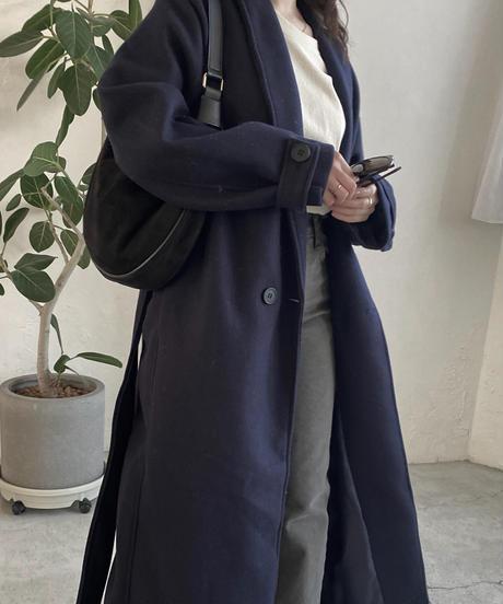 《即納》double long coat(2color)