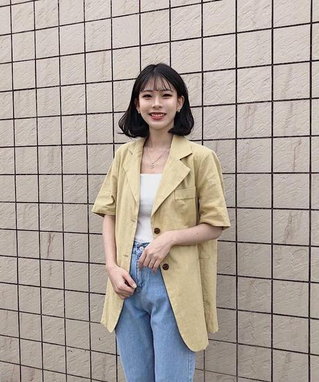 《予約販売》linen blend big jacket