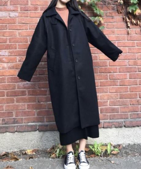 《予約販売》wool blend single coat