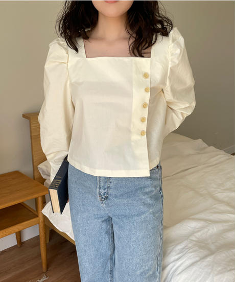 《予約販売》roha square blouse