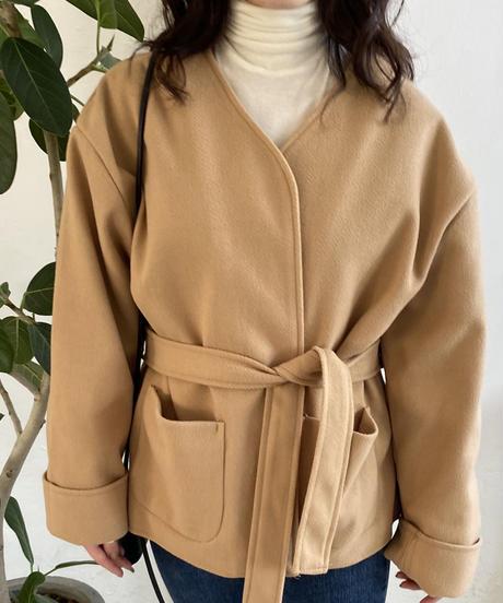 《即納》wrap short jacket