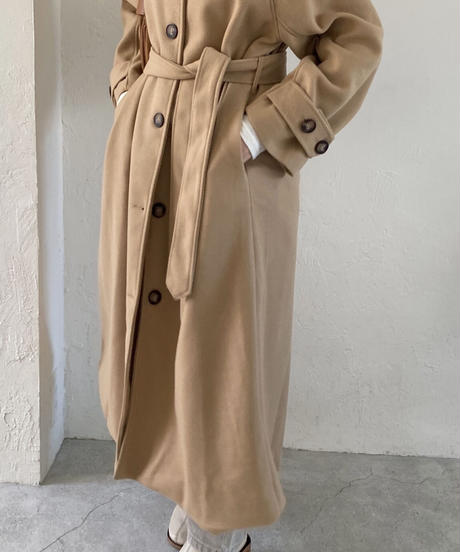 《即納》over fit long coat (3color)