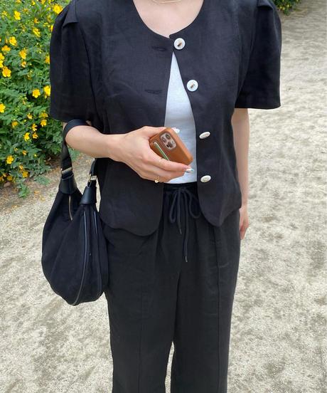 《予約販売》bia linen jacket (3color)