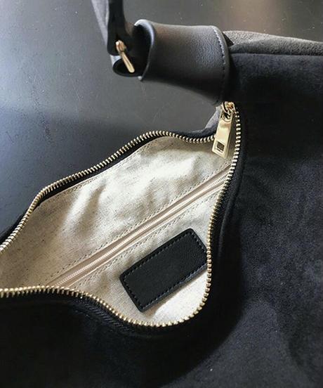 《予約販売》moon suede bag (2color)