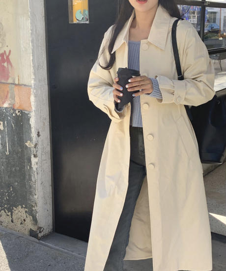 《予約販売》sander trench coat