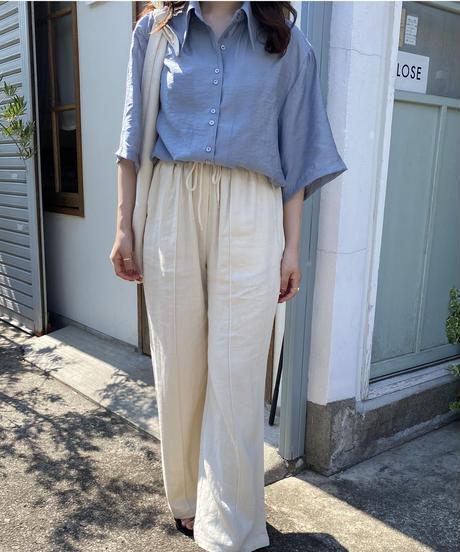 《予約販売》lill double button shirt (3color)