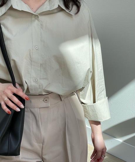《予約販売》urban cotton shirt (3color)