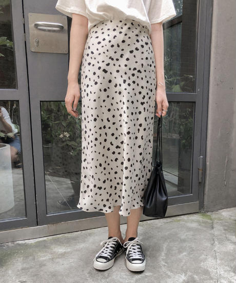 《予約販売》leopard flare long skirt