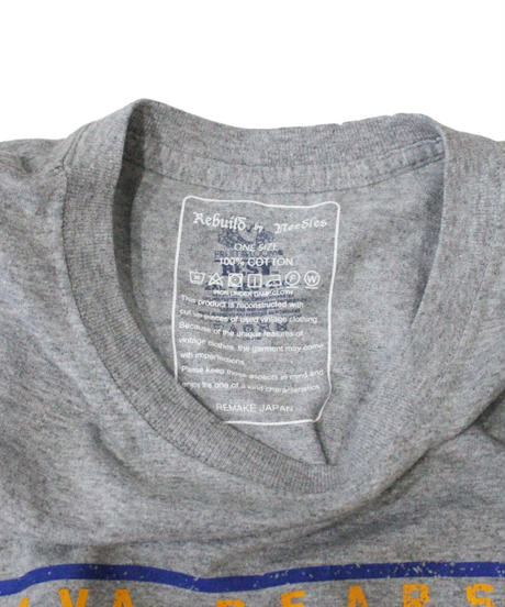 Rebuild by Needles - 7 Cut Tee College Wide #9 GREY - onesize