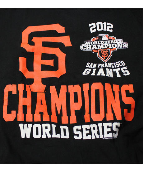 used:SANFRANCISCO GIANTS USEDtee -SIZE XL