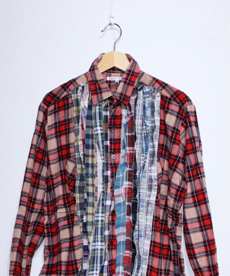 Rebuild by Needles:Ribbon Flannel Shirt - M size #40