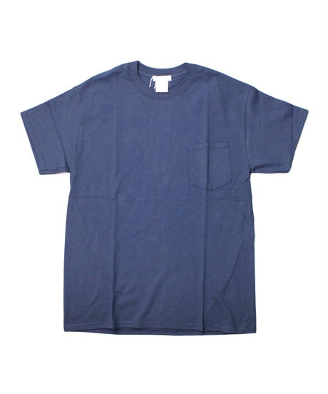 TAMANIWA:ball park pocket tee - back print logo   (COLOR)