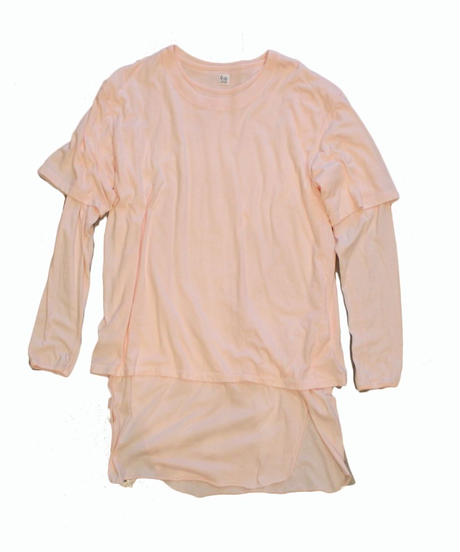 RYU cotton layered shirt -pink - size 4