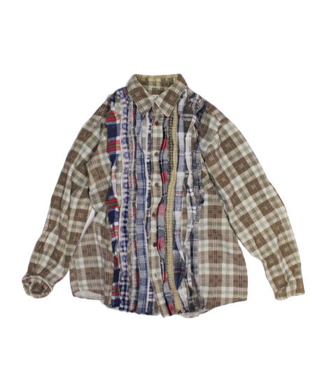 Rebuild by Needles Ribbon Flannel Shirt #15 - S size