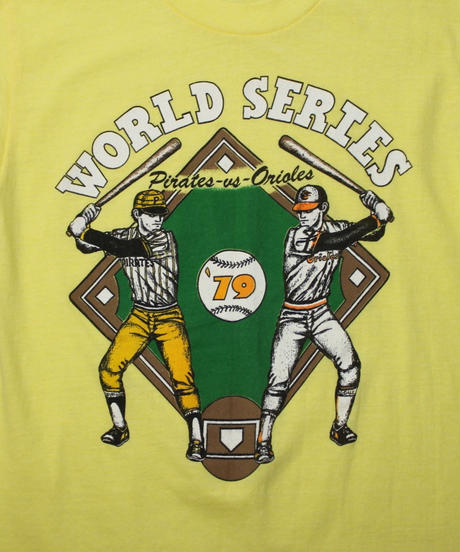 79 's WORLD SERIES TEE -L size