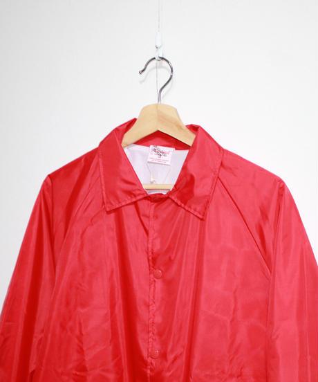 INFIELDER DESIGN:cardinal patch coach jacket - RED