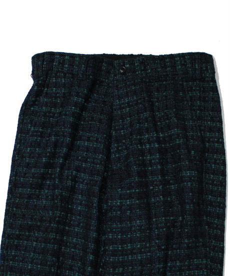 Needles : BASIC TROUSER FANCY TWEED - Navy Green