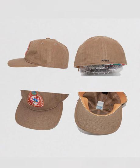 POTEN:TAMANIWA SP Patch CAP - LINEN
