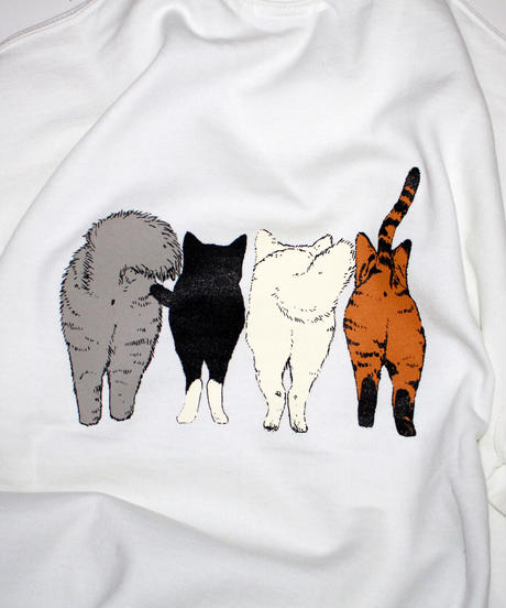 TAMANIWA:CATS sweatshirt
