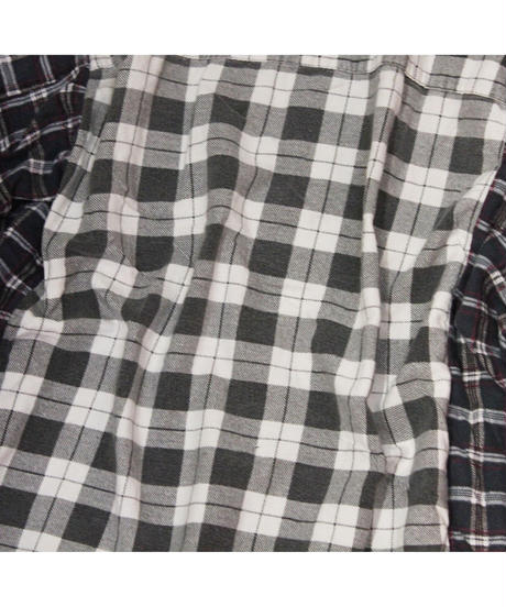 Rebuild by Needles:Ribbon Flannel Shirt Wide  -  onesize #24