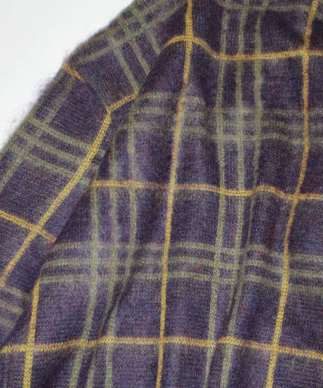 Needles :  Mohair Cardigan - PLAID