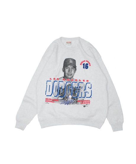 used:Los Angeles Dodgers HIDEO NOMO long sleeve sweat - L size  #15