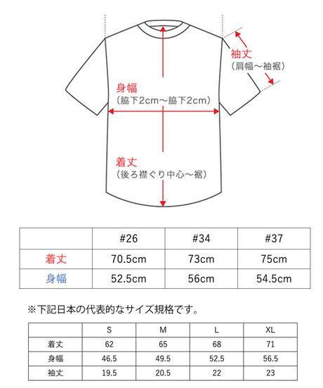 TAMANIWA:MLB half remake tee #26 , #34 , #37
