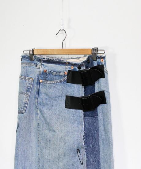 Rebuild by Needles:#501 Wrap Skirt - onesize