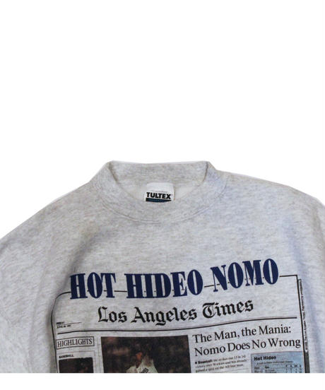 used:Los Angeles Dodgers #16 HIDEO NOMO used long sleeve sweat  - size M #7