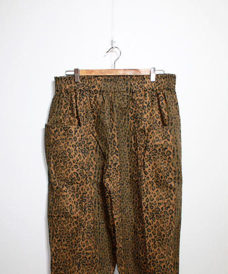 South2 West8:Army String Pant Flannel Pt. - Leopard