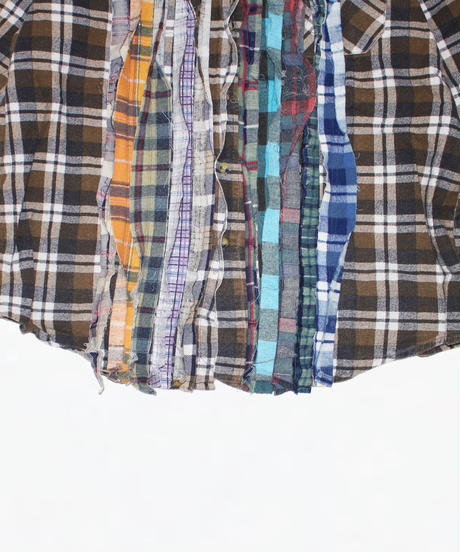 Rebuild by Needles:Ribbon Flannel Shirt - M size #47