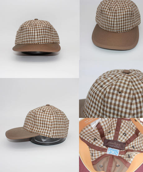 POTEN:ANGELICO LINEN GINGHAM CHECK