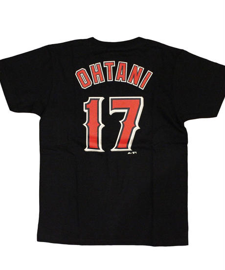 majestic   name&number T LAA #17 OHTANI