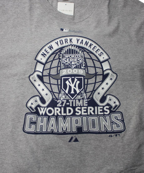 used:NEW YORK YANKEES tee -size L