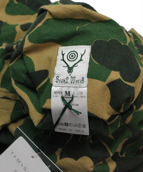 South2 West8 - Army String Pant Printed Flannel Camouflage  M size