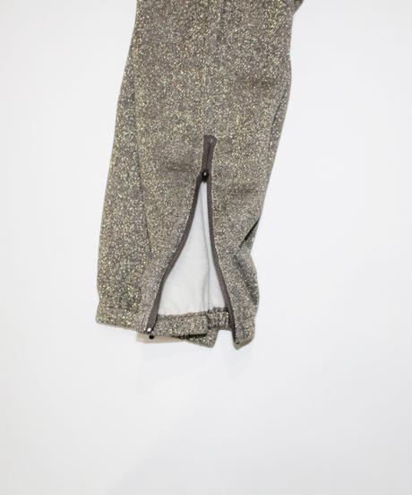 Needles:Zipped Sweat Pant - C/Pe/N Bright Jersey