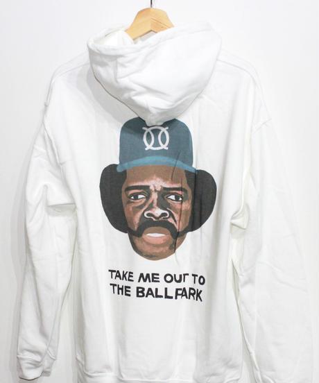 TAMANIWA:ball park  Hoodie Sweat - back print logo (OZZIE)