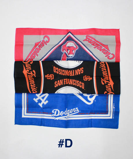 INFIELDER DESIGN:MLB MIX BANDANA