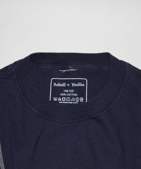 Rebuild by Needles:7 Cuts S/S Tee College WIDE - onesize #32