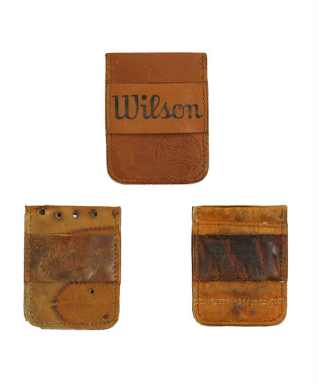Mack Provisions:Vintage Baseball Glove Card Holder