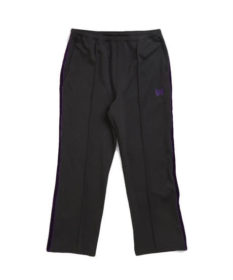 Needles SIDE LINE CENTER SEAM PANT  POLY SMOOTH -BLACK Msize