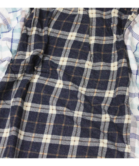 Rebuild by Needles:Ribbon Flannel Shirt wide - onesize #30
