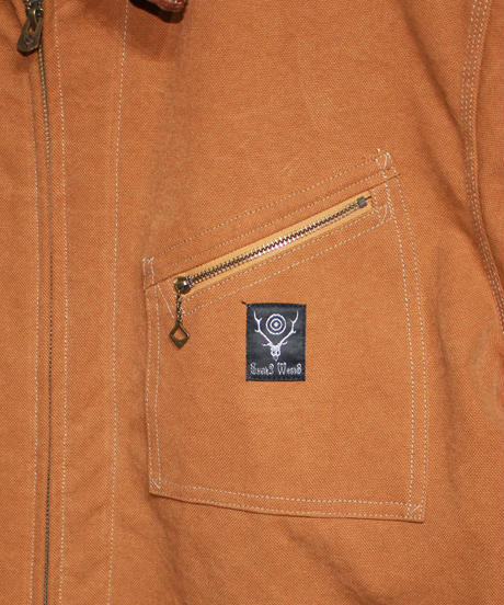 South2 West8:Lined Work Jacket - 16oz Canvas